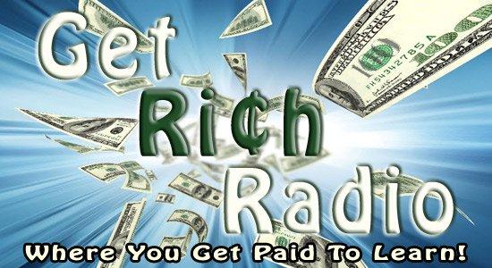 Get Rich Radio - get paid to listen