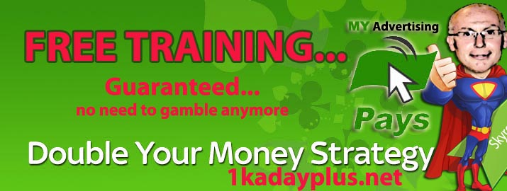 Double Your Money strategy- MyAdvertisingPays