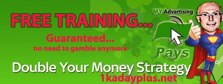 Double Your Money strategy- MyAdvertisingPays