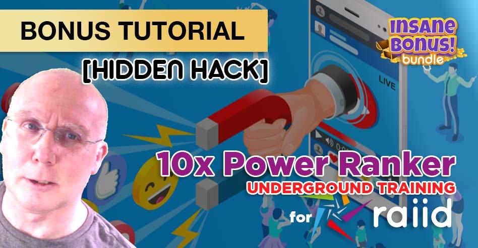 Bonus 10x Power for RAIID
