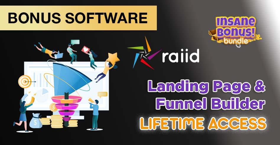Bonus Funnel Page Builder RAIID