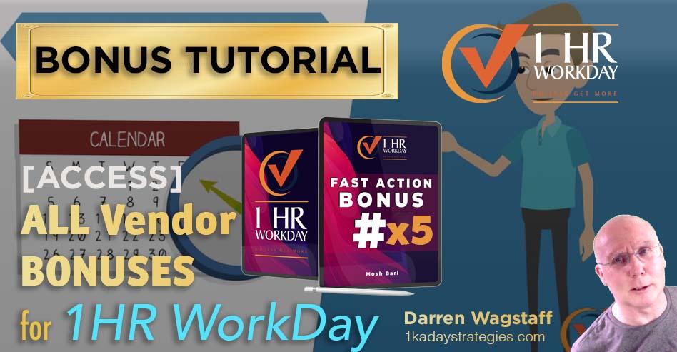 1hr Workday Vendor Bonuses