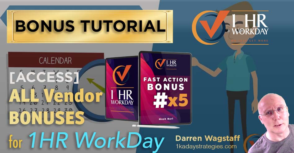 1hr Workday Vendor Bonuses