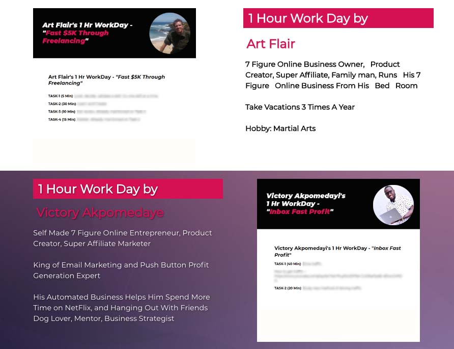 1hr work day mosh review bonus
