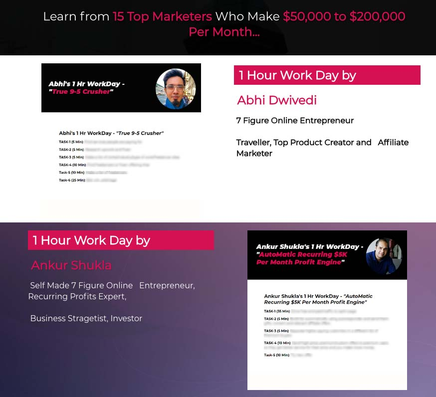 1hr workday interviews and methods