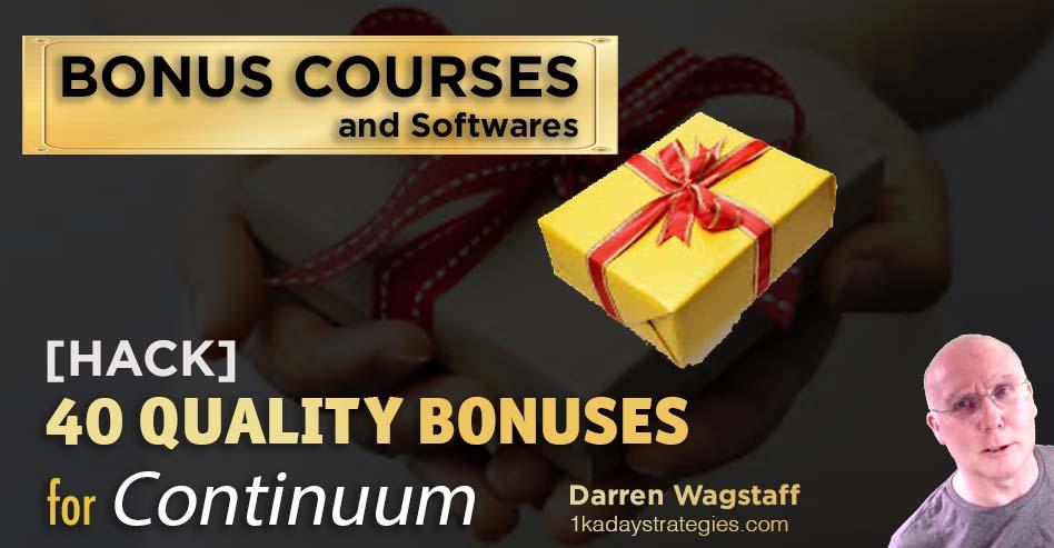 Bonus Continuum 40 Bonuses
