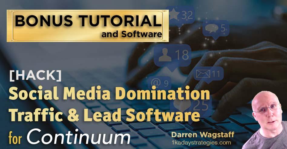 Bonus Continuum Social Media Domination
