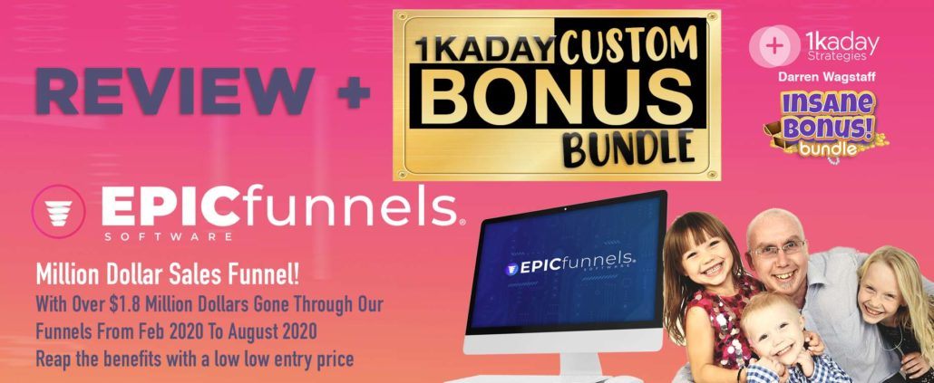 EPIC Funnels Review Bonus copy