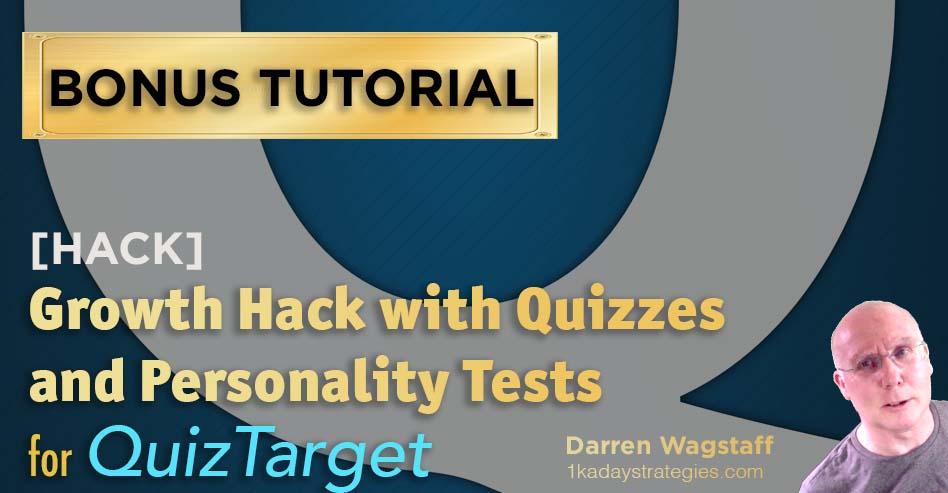 Quiz Target Growth Hack