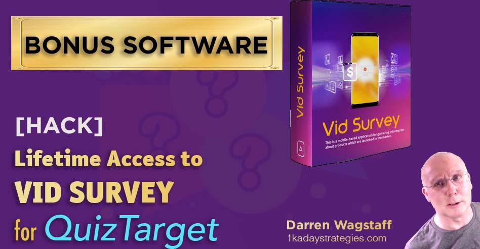 QuizSurvey VID SURVEY