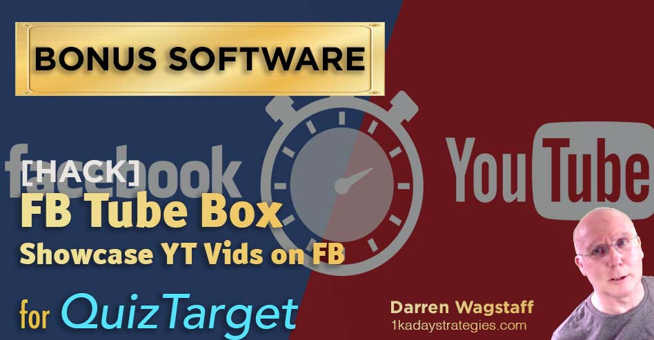 QuizTarget FB Tube Box