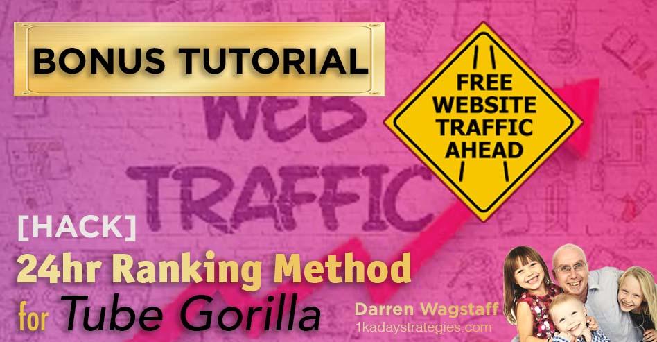 Tube Gorilla 24hr Ranking Method