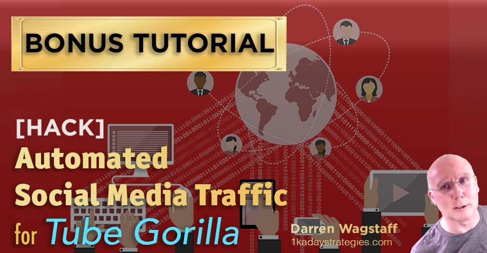 Tube Gorilla Bonus Auto Social Media Traffic