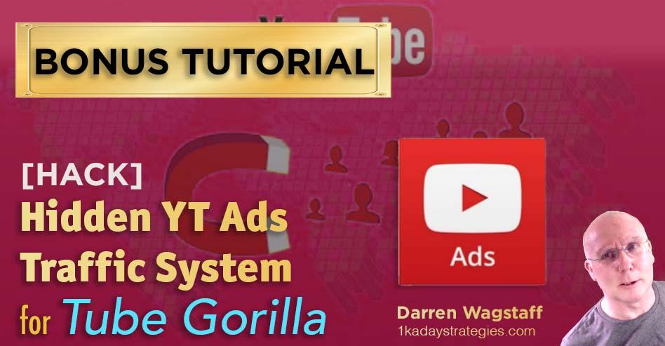 Tube Gorilla Hidden YT Ads Traffic