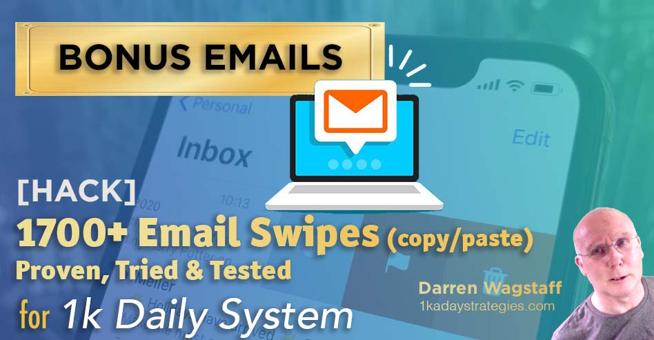 1k Daily System Email Bonus