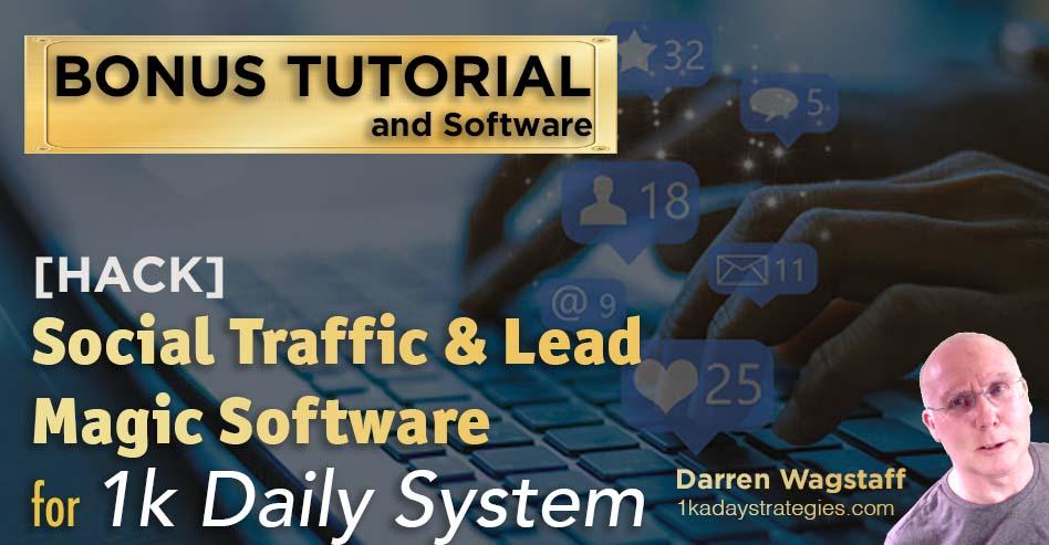 1k daily system bonus social traffic
