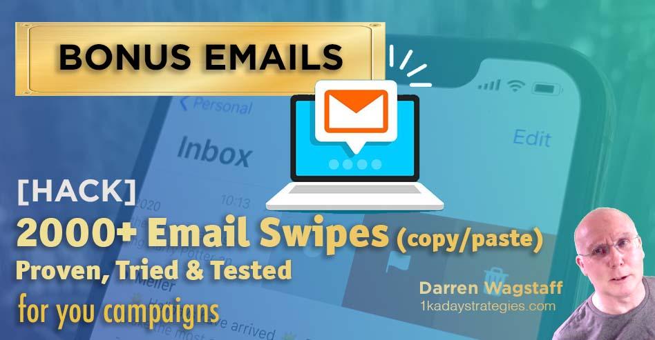 Bonus 2k emails