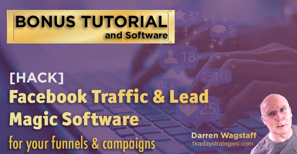Bonus FB Traffic Lead Software