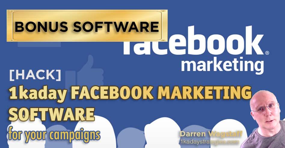 Bonus Facebook Marketing Software