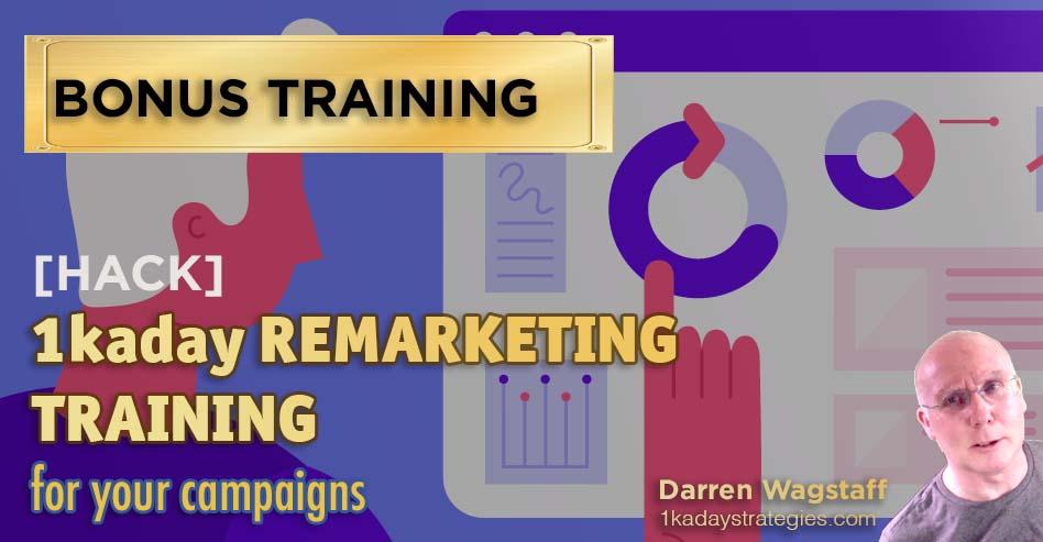 Bonus retargeting training