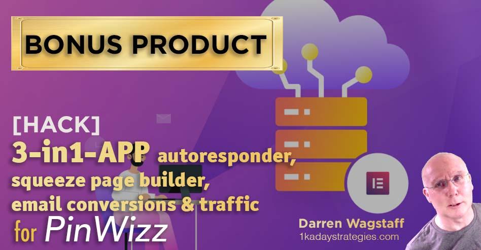 PinWizz Bonus 3 in 1 App