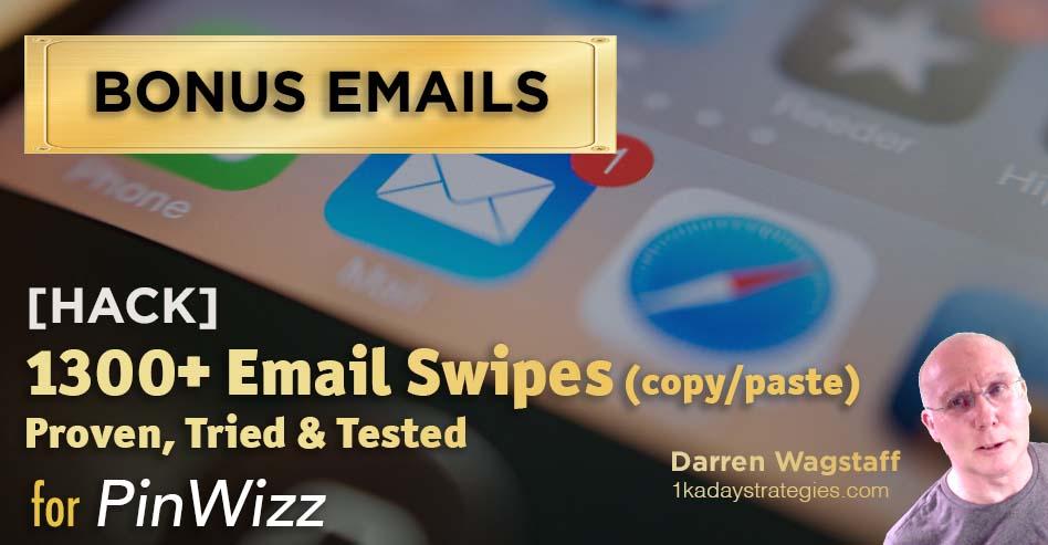 Pinwizz bonus 1300 emails